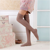 New Fashion Rain Boot Cuff Socks Long Womens Sexy Over Knee Warm Sock