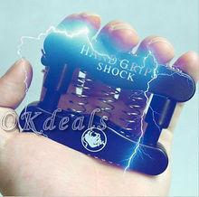Tricky Hand Grip Gripper Electric Shock Funny Joke Safe Prank April Fools Day