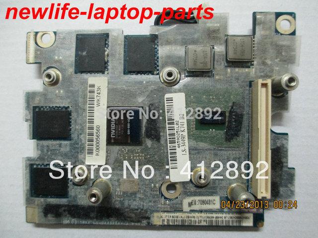X200 X205 VGA tarjeta vedio K000056560 ISRAA LS-3449P 100% calidad de la promesa de trabajo