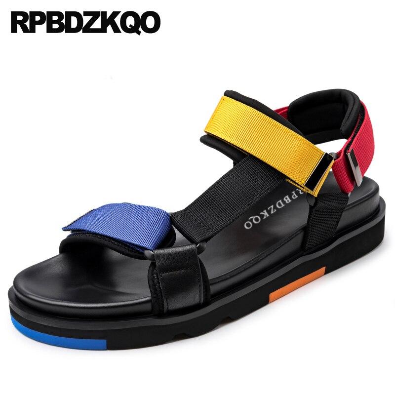 shoes casual native black beach white