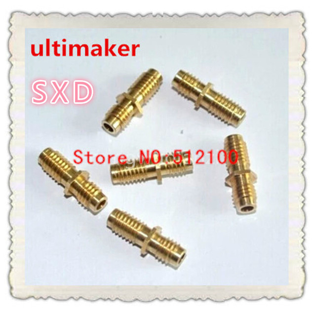 free shipping 20PCS  accessories throat ultimaker feed throat M6X20 3D materials