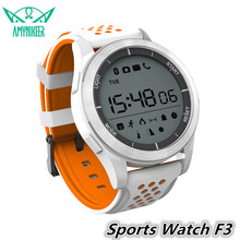 Newest Smart Watch F3 IP68 Waterproof outdoor fitness Tracker usable devices reminder pk smartwatch zd09 a1 kw18 y1