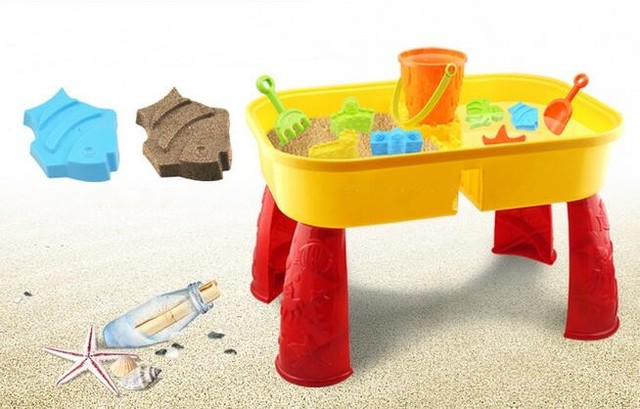 Sand Water Table Kids Children Summer Outdoor Sand Beach Toys Play Set
