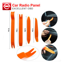 4 Pcs Auto Mobil Radio Pintu Panel Klip Portable Trim Dash Audio Penghapusan Installer Pry Kit Alat Perbaikan Alat Tangan OBD2 Mobil Styling(China)