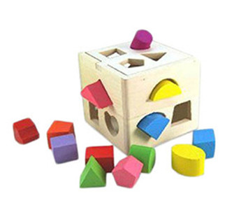 Kids Baby Educational Toys Wooden Building Block Toddler Toys For