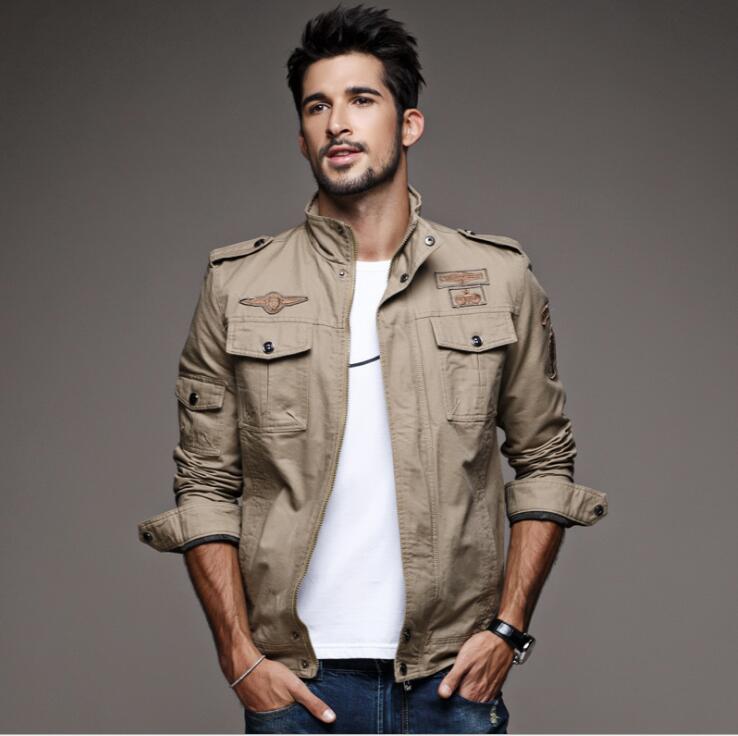 Tailleur Amour Automne Veste Hommes Coupe-Vent Réfléchissant Bomber - Vêtements pour hommes - Photo 5