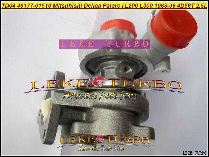 TD04 49177-01500 49177-01501 49177 01500 Oil cooled Turbo For Mitsubishi SHOGUN Delica Pajero L200 L300 1988-96 4D56T 4D56 2.5L футболка print bar shogun assassin