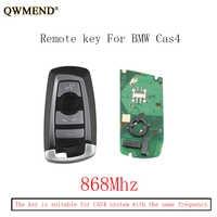 QWMEND 868Mhz Smart Remote Key Keyless Fob For BMW F CAS4 3 5 7 Series F01 F02 F03 F04 F11 F07 F10 F30 Original keys