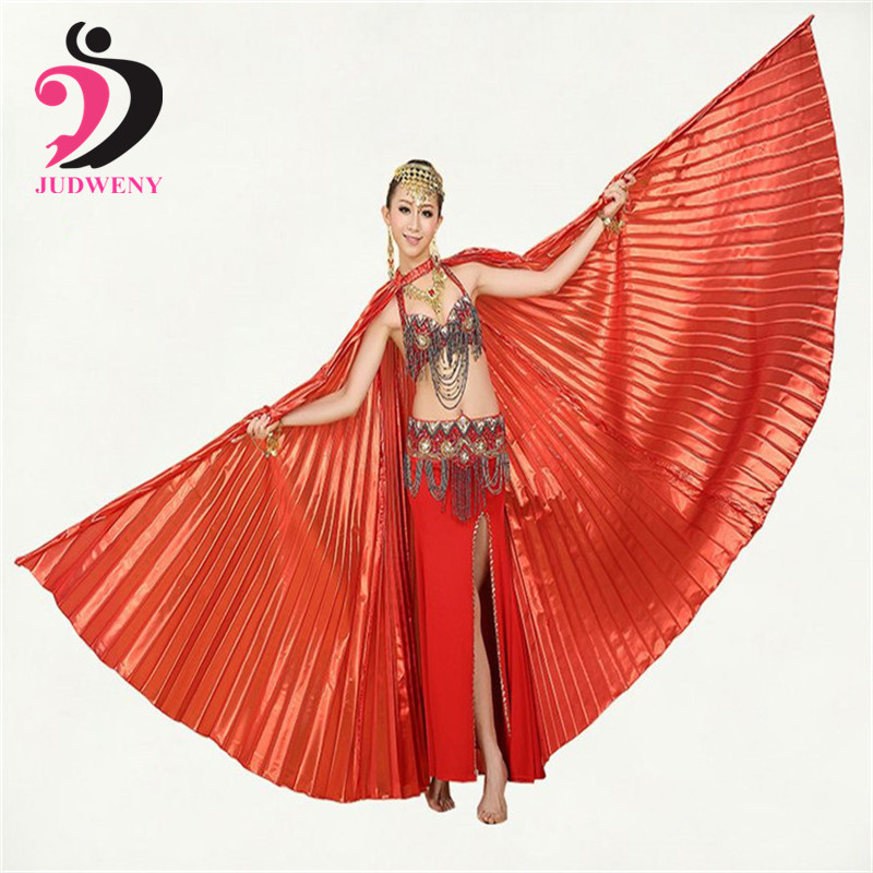 2019 adult Angle hot selling wings Egyptian Egypt Belly dance costume Isis wings Professional Belly Dancing Wing without Sticks in Belly Dancing from Novelty Special Use