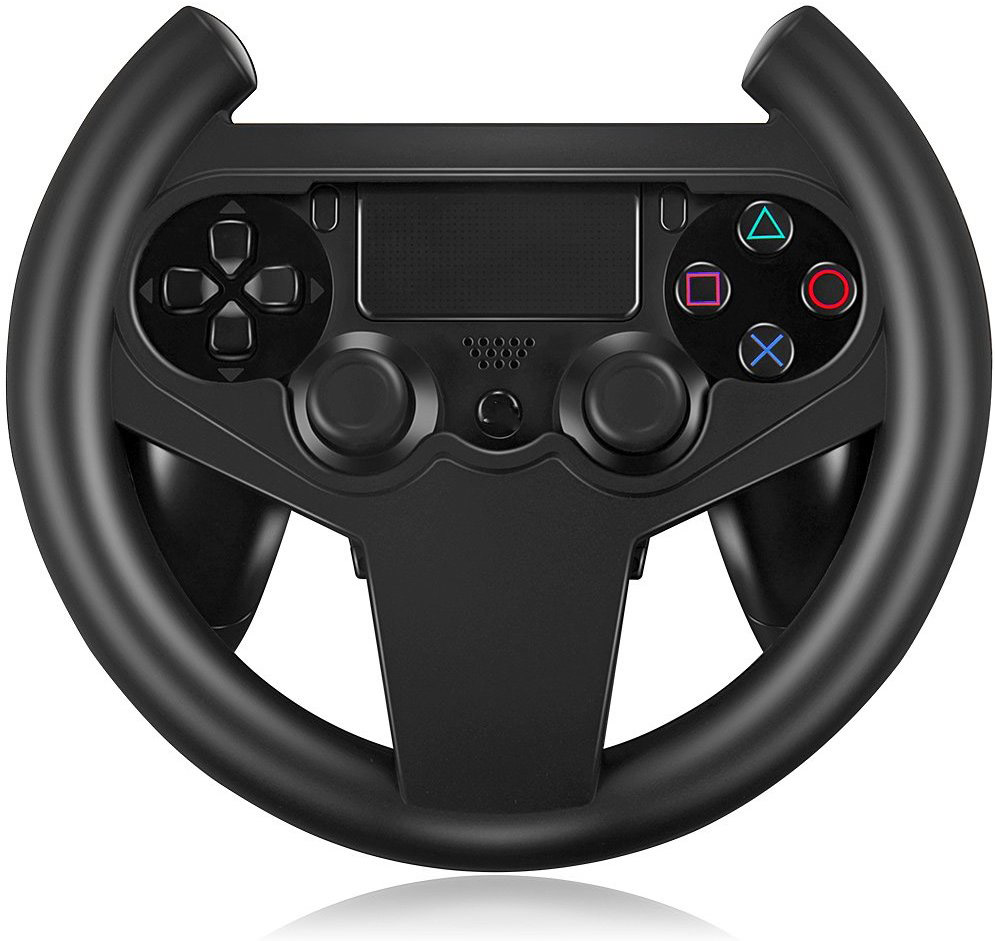 for PS4 Gaming Racing Steering Wheel For PS4 Game Controller for Sony Playstation 4 Car Steering Wheel Driving Gaming Handle image
