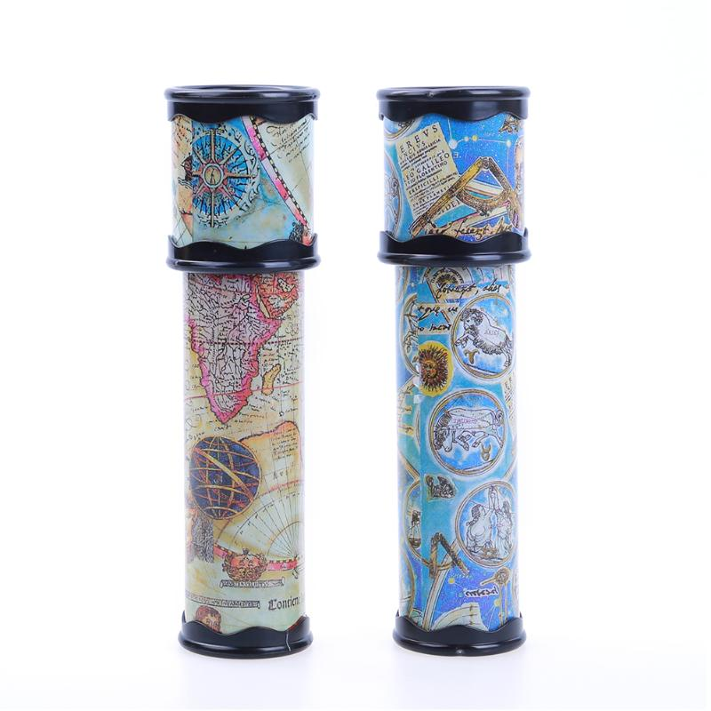 Kids Children Classical Toy Colorful Kaleidoscope Toys Rotatable Kaleidoscope Children Gifts Christmas Gifts Small Size(20cm)