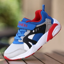 Boys sneakers 2019 spring new big boy breathable mesh pupils and autumn childrens shoes