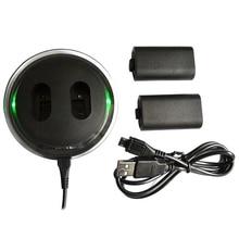 Универсальный светодиодный индикатор зарядная док-станция перезаряжаемые аккумуляторы двухпортовое зарядное устройство стабильная станция легкий для Xbox One