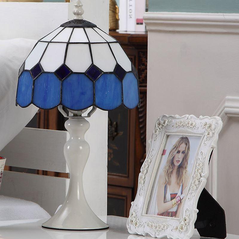Европейский Спальня настольные свет E27 Настольные лампы Посуда Ресторан декоративные светильники