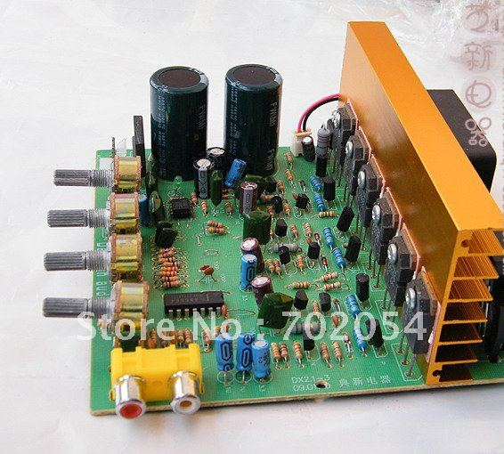 2 1 Channel Amplifier Pcb Board Hi Fi Car Audio Diy