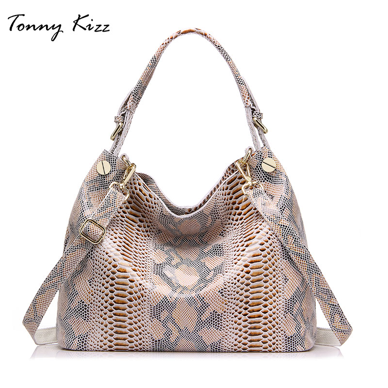 Tonny Kizz Casual Tote Bags For Women Genuine Leather Female Shoulder Bags Luxury Handbags Women Bags Designer Top Quality Large