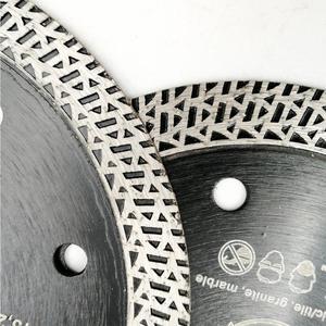 Image 5 - SHDIATOOL 2 piezas diamante prensado en caliente sinterizado disco de corte de malla de baldosa Turbo hoja de mármol Rueda de corte Sierra de múltiples materiales hoja