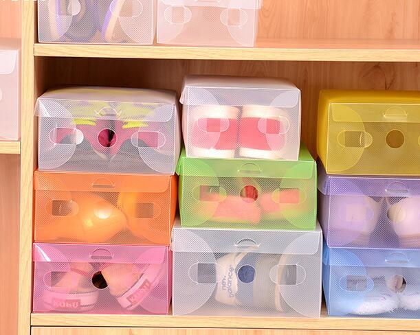 Kühlschrank Organizer Stapelbar : Stücke schuh aufbewahrungsbox kunststoff stapelbar schuhe box