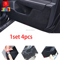 Car door Protector Pad covers car-styling sticker mats Fit For Mitsubishi Lancer EX  All 1set/4pcs black car-styling