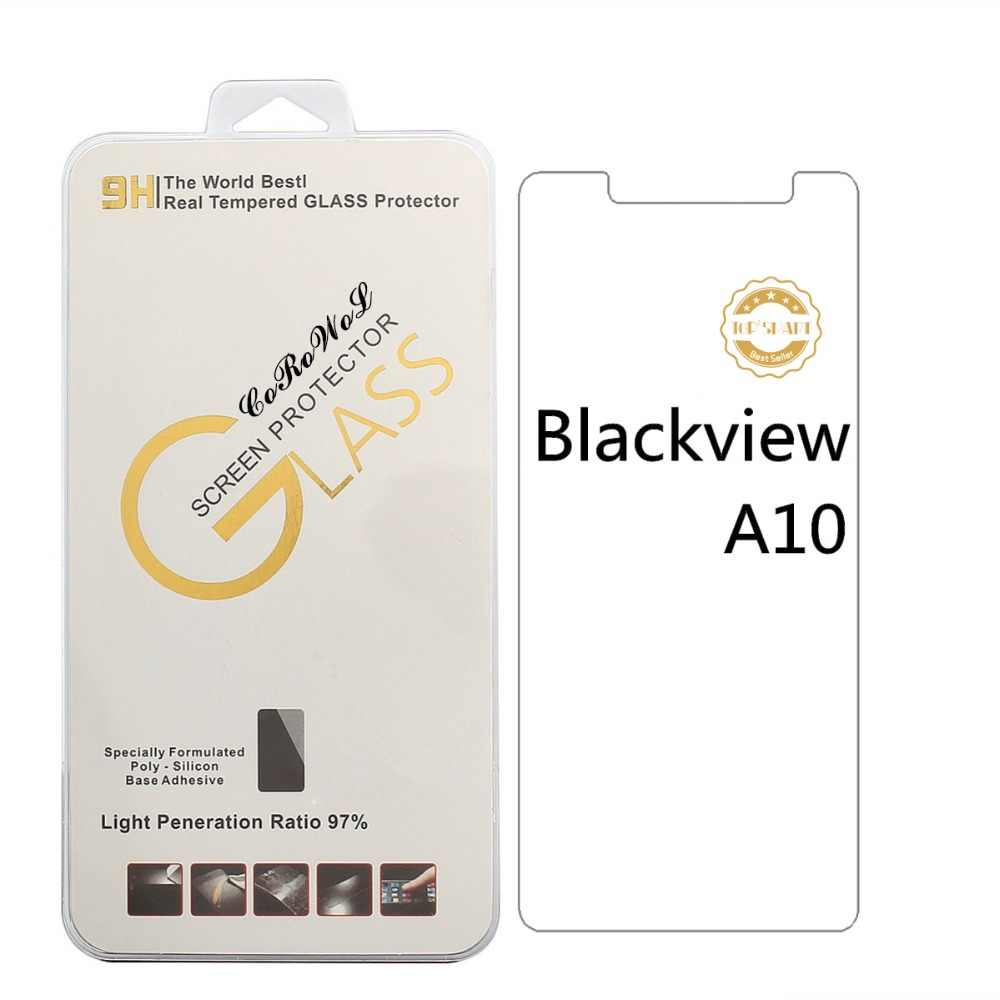 Mới Cho blackview A10 Tempered Glass 9 H 2.5D chất lượng cao Protector Film Đối Với blackview A10 smartphonefree viền trắng lỏng