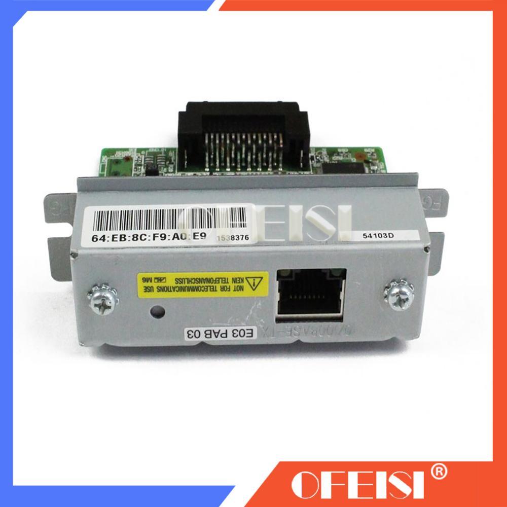 Ethernet interface For Epson TM U220B 220PB 220PD 220PA TM T81 T82II T88III T88IV T88V T70 T90 T86L UB-E03 UB-E02 C32C824541Ethernet interface For Epson TM U220B 220PB 220PD 220PA TM T81 T82II T88III T88IV T88V T70 T90 T86L UB-E03 UB-E02 C32C824541