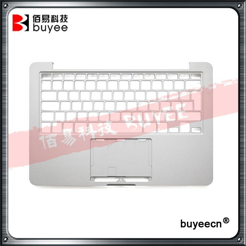 Original NEW A1502 Topcase UK EU Layout Late 2013 Mid 2014 For Macbook Pro Retina 13'' A1502 Laptop Palmrest Top Case Housing original new a1502 top case with keyboard uk version for macbook pro retina 13 2013 2014