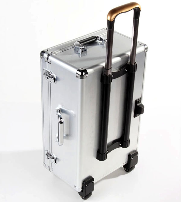 Full Aluminum Trolley case / Draw-bar case / Travelling case / piggy bag for Phantom 1/ 2 / Vision + Plus professional dji phantom 2 vision aluminum traveling case trolley bag with wheels and bar box