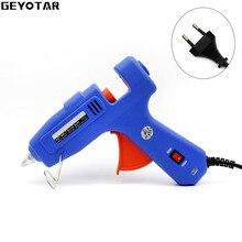 60W 100W EU Plug Hot Melt Glue Gun with Free 1pc 11mm Stick Heat Temperature Tool Industrial Guns Thermo Gluegun Repair tools
