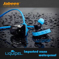 Jabees Bsport NFC Wireless Sports Bluetooth Headset Earphone Stereo Sweatproof Waterproof Swimming Headphone For Running Jogging