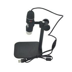Практичная Электроника 5MP USB 8 светодиодный цифровой камера микроскоп Эндоскоп лупа 50X ~ 500X увеличение мера