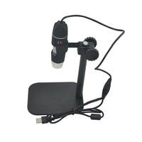 Practical Electronics 5MP USB 8 LED Digital Camera Microscope Endoscope Magnifier 50X 500X Magnification Measure