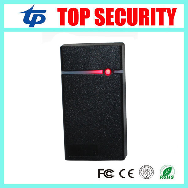 Good quality free shipping MINI 125KHZ RFID card reader weigand26 IP65 waterproof smart ID card reader for access control system high quality drawer locker mini size with id card reader