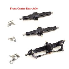 Front Middle Rear Metal RC Car Axle Set for WPL 1/16 B1 B-1 B14 B-14 B16 B-16 B24 B-24 C14 C-14 C24 B36 Upgrade Parts 1 set rc car steering pull rod upgrade part metal rc steering rod durable for wpl b1 b14 b24 b24 c14 c24 1 16 mayitr