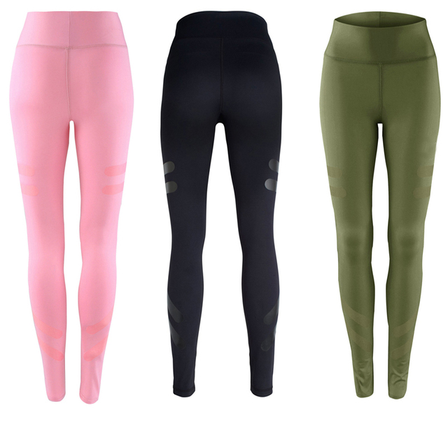 3 Colors Army Green Sporting Leggings Clothing For Women's Fitness Quick Dry Pants High Waist Leggins Fitness Workout Leggings 1