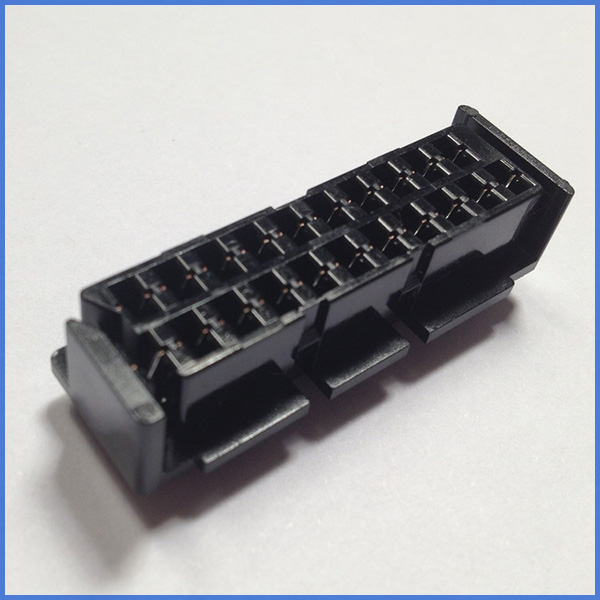 100pcs a lot Scart JP21 plug 21 pin female connector Connect Port Socket Interface Connector slot for S-N-E-S AV cable