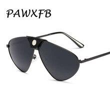 PAWXFB Wholesale Polarized Sunglasses Women Men Oversized Ladies Pilot Metal frame sun glasses (A lot 3 Pieces)