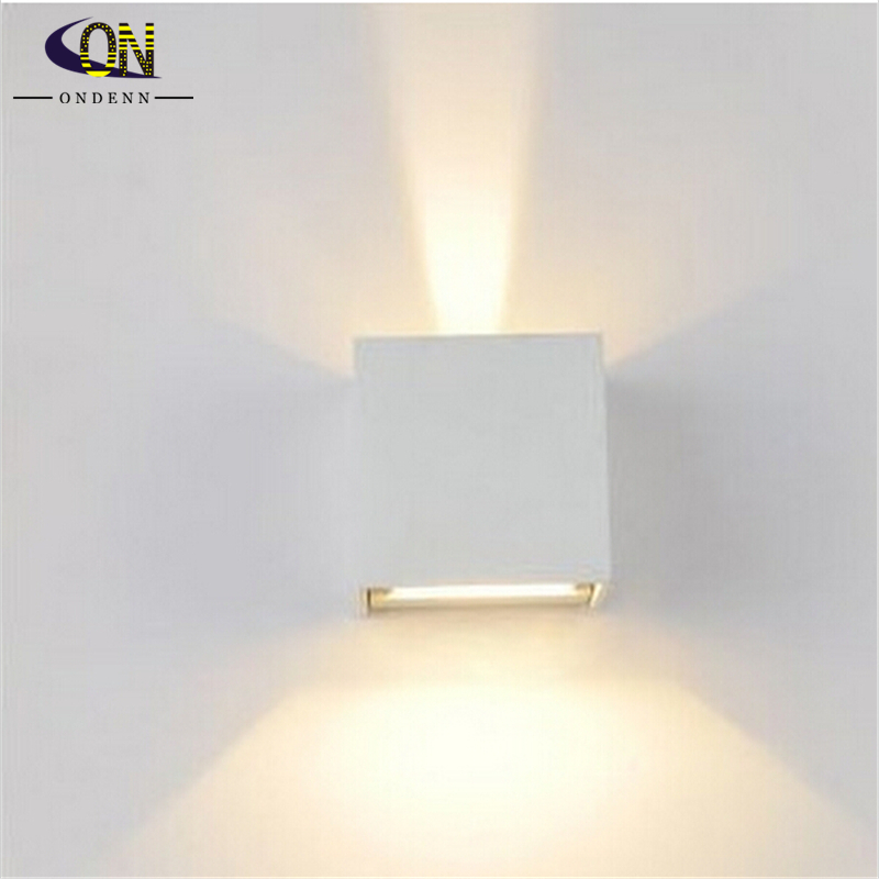 6W Led Wall Lamps LED Outdoor Wall Sconce Waterproof Modern 2pcs/lot ...