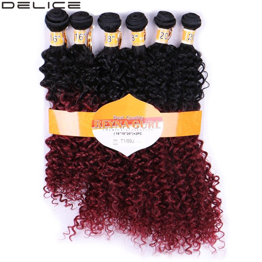 ᐃDelice 6 paquetes/Pack mujeres ombre tejer del pelo extensiones de ...
