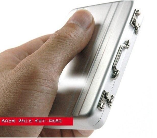 Mini briefcase business card case id holders password aluminium mini briefcase business card case id holders password aluminium credit card holder colourmoves