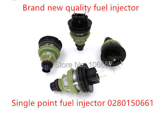 Free shipping High quality CHEVY GEO METRO SWIFT FUEL INJECTOR 0280150661 195500 2160 for Suzuki Jeep