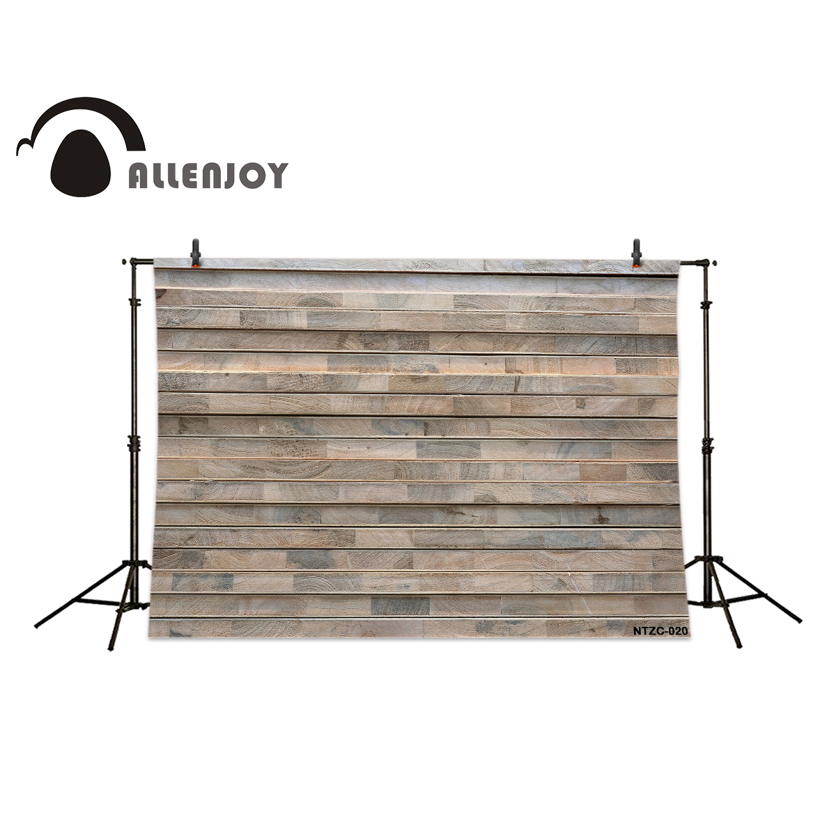 Allenjoy Thin strips of gray stripes wood brick wall backgrounds for photo studio vinyl photography backdrops allenjoy photography backdrops neat wooden structure wooden wall wood brick wall backgrounds for photo studio