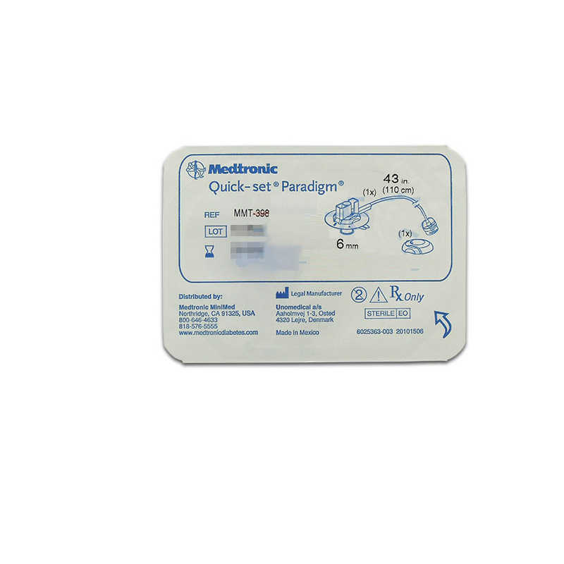 Medtronic Quick-set Soft needle catheter 396/7/8/9 1box 10packs Insulin  pump consumables insulin pump healthcare products