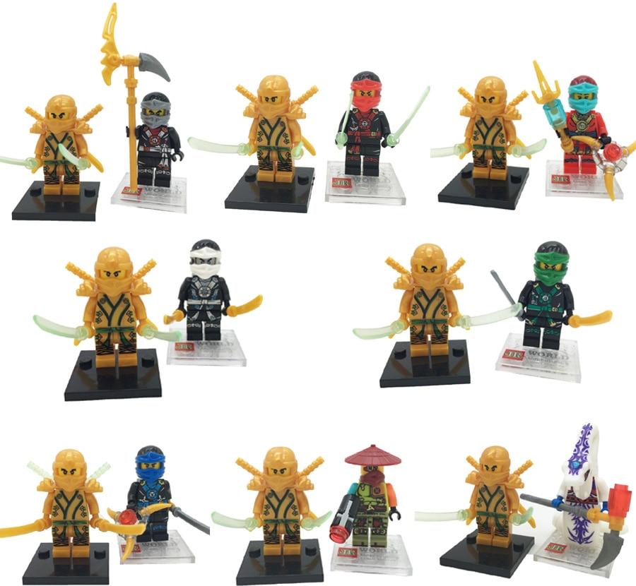 Lego Ninja Toys : Online buy wholesale lego ninjago minifigures from china