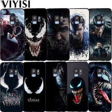 Marvel Venom Phone Case Etui For Samsung Galaxy S10 case Lite S7 S8 S9 Plus J3 J4 J5 J6 J7 J8 2018 Coque Fundas Black TPU
