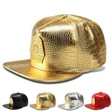 Pharaoh Last Kings LK High Quality Fashion PU HipHop Full Caps Skateboard Baseball Snapback Hats Men Women Rock Rapper Bone Gift