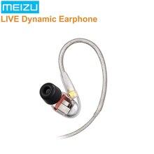 Оригинальные наушники MEIZU LIVE Quad High-Definition Micro Driver Проводные 97dB стерео ходовые игровые спортивные наушники с микрофоном