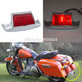 New Motorcycle Red Lens Rear Fender Tip Trim For Harley Touring Modles & Road King FLHR 1986-2008