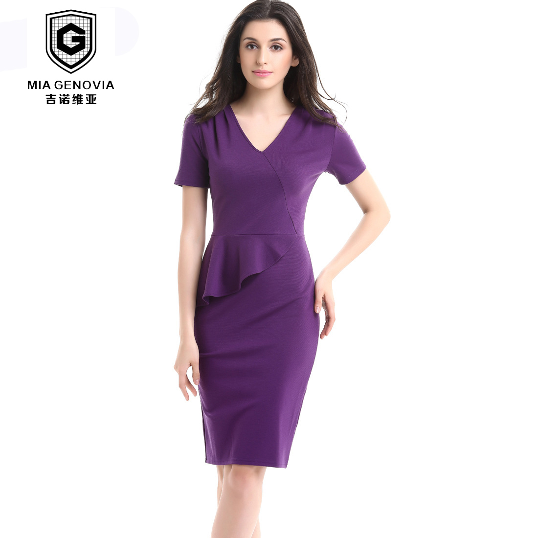 Popular Women Smart Casual Dress-Buy Cheap Women Smart Casual ...