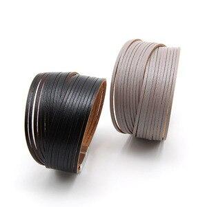ZG 3mm mini leather strip combination wo