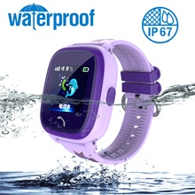 DF25 Kids Smartwatch SOS Call Location Finder Device Baby SIM card Tracker Waterproof Sport Bracelet 1.22 Inch Color Screen
